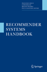 Cover of 'Recommender Systems Handbook'